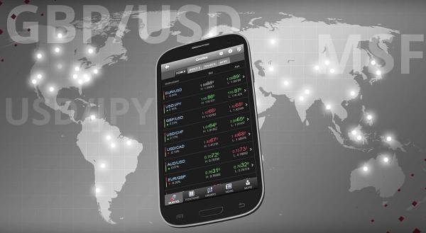 DF Markets mobile