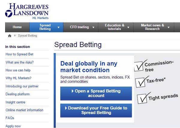 HargreavesLansdown Betting