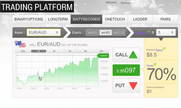 Online Trading Account Assets