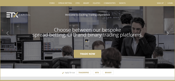 ETX - the Best Financial Spread Betting Company in UK